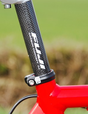 Seatpost could be lighter and more shock-absorbing