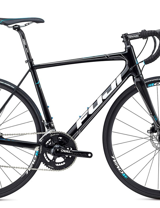 The SL 2.3 Disc is the first to forgo a Shimano crankset for the Oval crank with Praxis Works chainrings