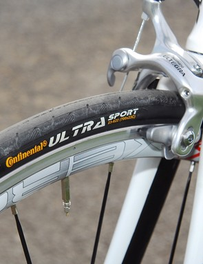 We weren't impressed with the Conti tyres and would replace them immediately