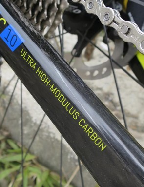 1 Series bikes use the higher-grade C10-level carbon