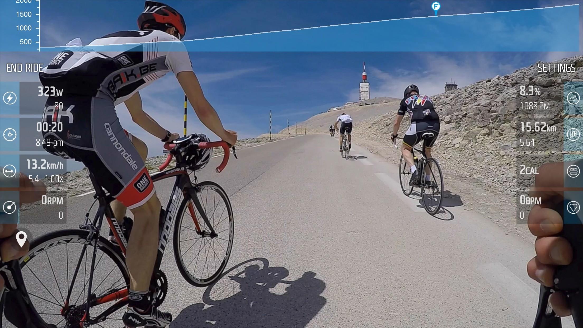 FulGaz uses POV video of iconic rides around the world
