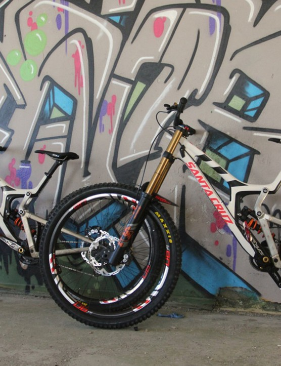 Greg Minnaar can be considered the driving force behind the development of the 29er V10