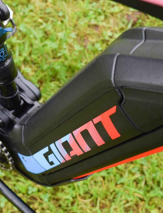 The EnergyPak battery is integrated neatly with the downtube