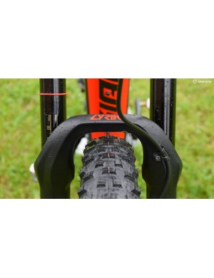27.5x2.6in tyres are about the limit