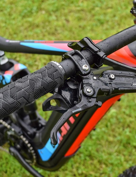 SRAM's Guide RSC brakes offer lots of adjustment and great modulation