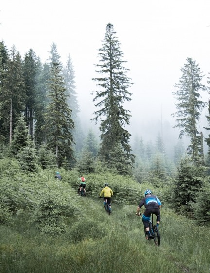 The trails around Kirchberg, Austria offered huge variety for exploring the Full-E+'s abilities