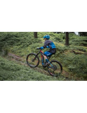 The Full-E+'s motor is powerful enough that you can soft pedal up fairly steep climbs