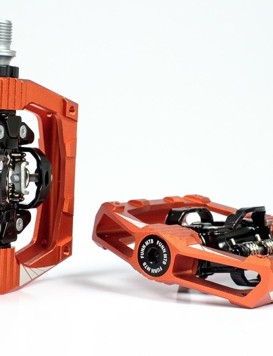 The action on the Funn Ripper pedals have a smooth movement on the clipless mechanism