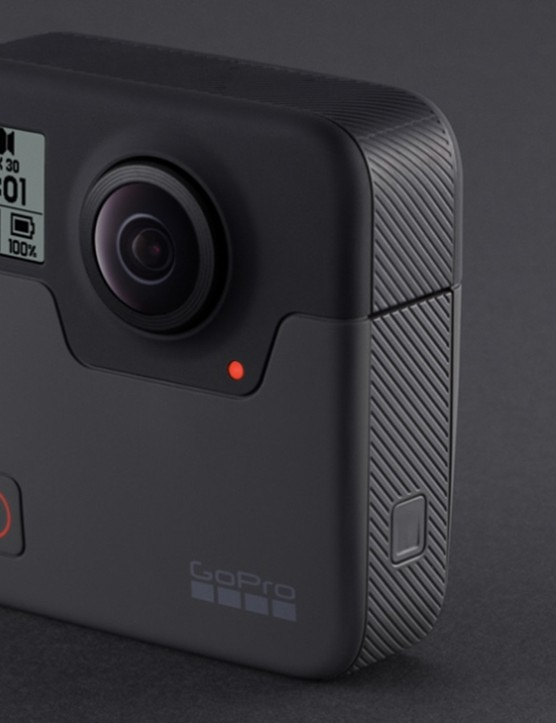 The GoPro Fusion two-lens camera will be available in the coming months