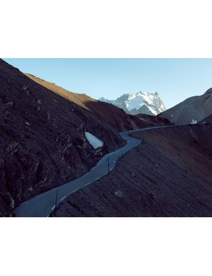 Col du Galibier makes all other climbs look like