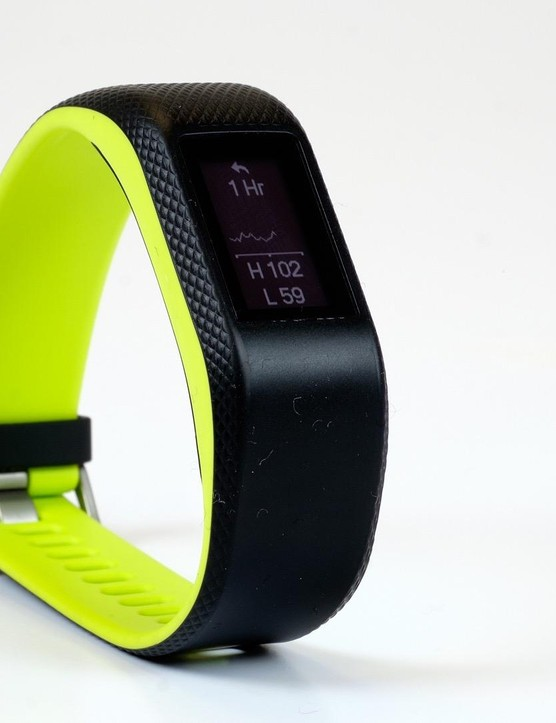Garmin's Vivosport includes in-built GPS and a heart rate monitor