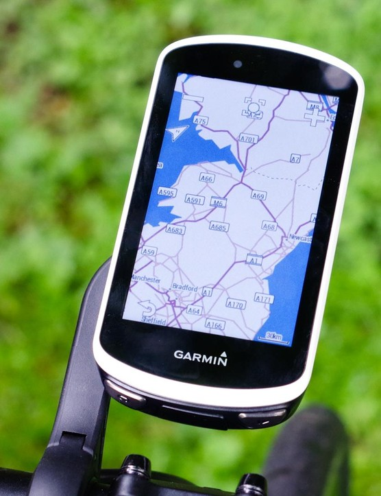 The Edge 1030 offers a fully featured navigation experience