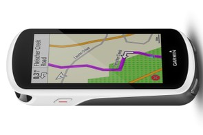 The 3.5-inch color touchscreen is Garmin's biggest yet