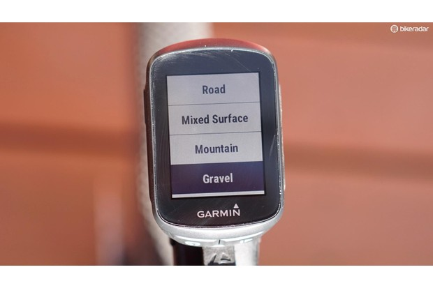 The little Garmin Edge 130 has a sharp screen and easy-to-follow menus