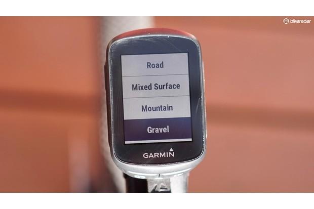 The little Garmin Edge 130 has a sharp screen and easy-to-follow menus