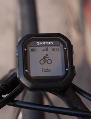 Garmin Edge 20 is the most basic, no-frills GPS bike computer in the range