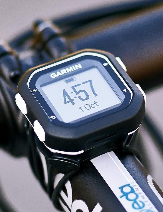 The Garmin Edge 25 is an excellent minimalist option