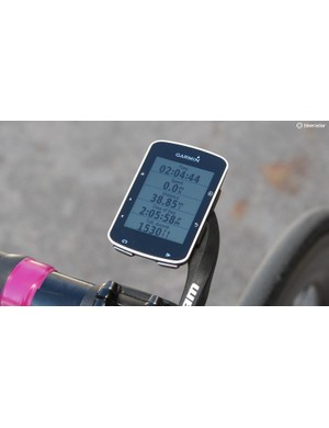 Garmin Edge 520 is a pared-down GPS bike computer for performance-minded cyclists