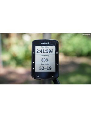 The Garmin Edge 520 Plus can talk to all your peripherals, including your electronic drivetrain