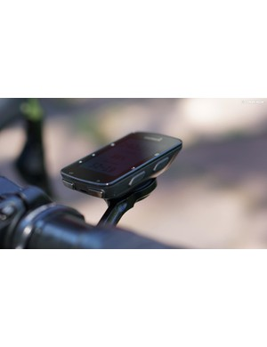 The seven buttons are easy to work in various conditions, but I wish Garmin would eliminate the buttons on the bottom edge as they dictate mounting placement