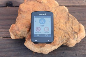 The Garmin Edge 820 has a commendably simple interface considering all the features packed into it