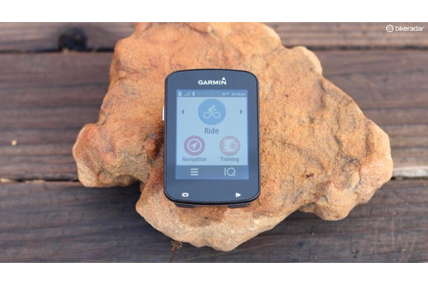 Garmin Edge 820 comes packed with connected features and performance stats