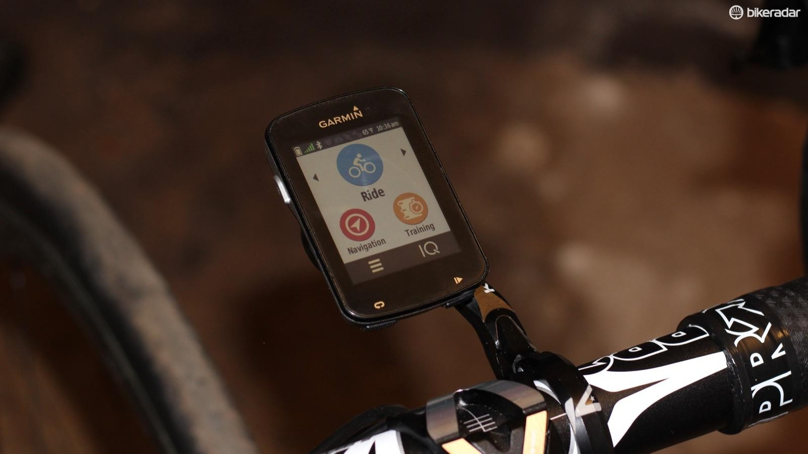 The Edge 820 adds some additional navigation features over the 520