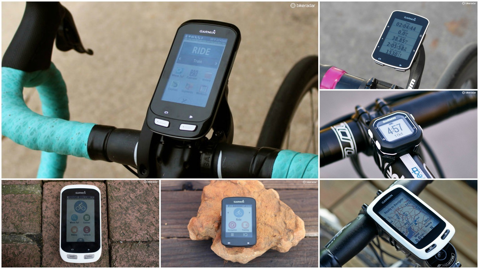 Garmin Edge bike computers range from the small and simple to the big and brainy