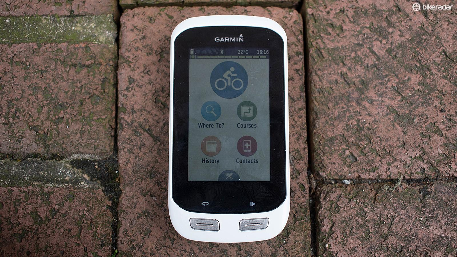 The Garmin Edge Explore 1000 is brilliant for finding your way around