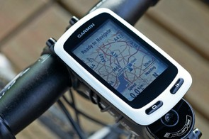Garmin Edge Touring is based on the discontinued Edge 810 and looks pretty dated now