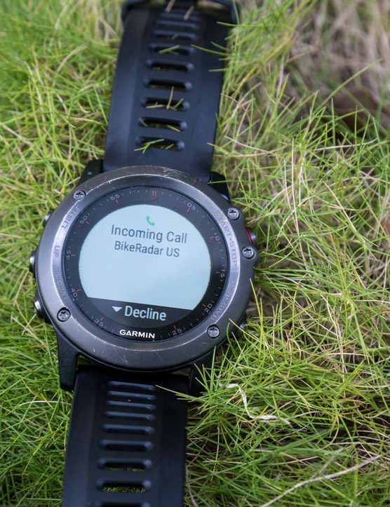 Many of the latest GPS watches can display notifications from your phone