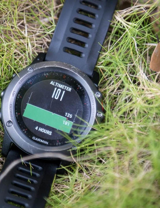 The altimeter is a little less reliable and can be easily tricked, though recalibration can either be done by manually entering your elevation or by using GPS
