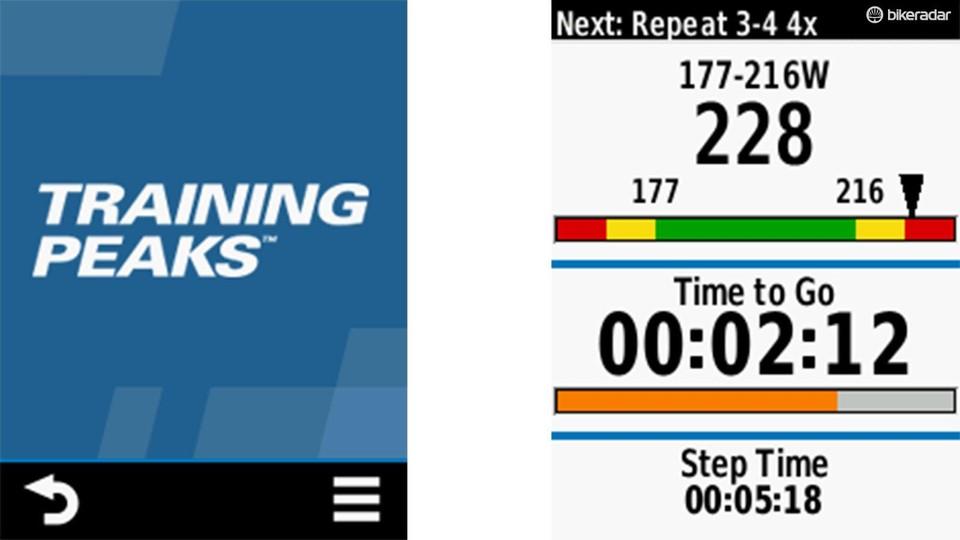 Garmin's TrainingPeaks app zaps workouts into your Edge