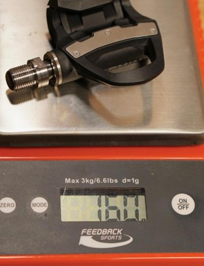 The Vector 2 pedal with pod weighs 180g
