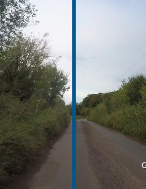 You can see in this side-by-side comparison just how much better 4K footage is from the Garmin ViRB Ultra 30, compared to the GoPro Hero 4 Black