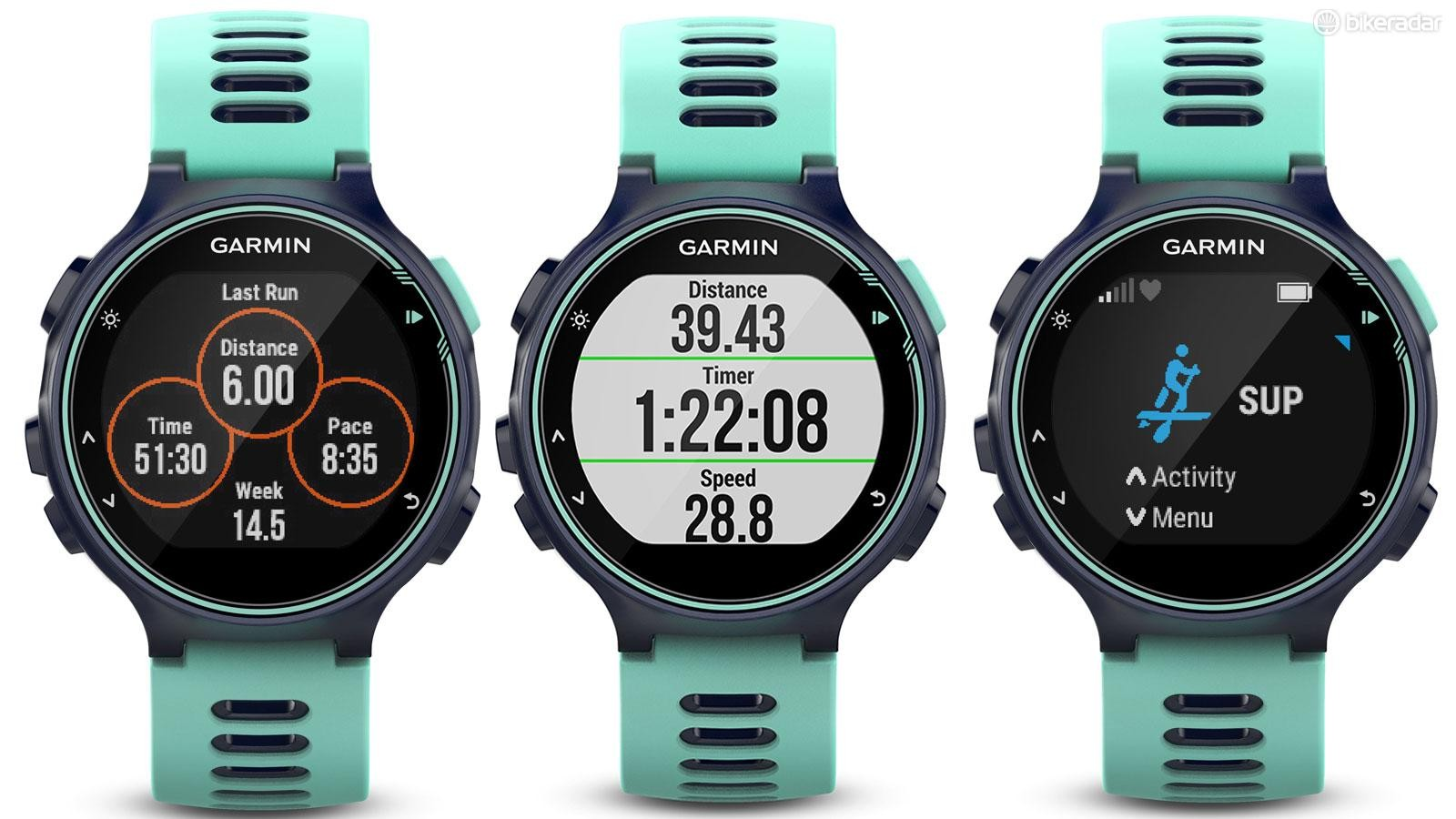 Activities pre-installed in the Forerunner 735XT make tracking your progress easy