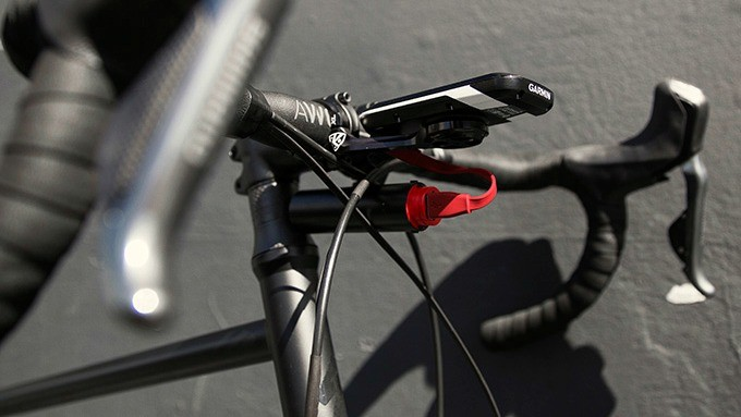 The PWR Bank can charge your Garmin as you ride — neat