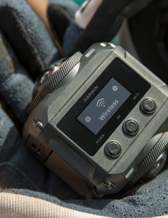 Garmin has beaten GoPro to market with its compact 360-degree action camera