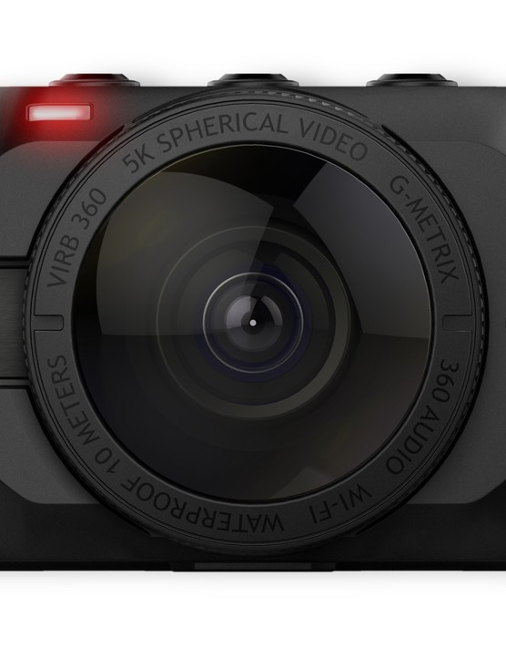 The VIRB can also take 15-megapixel spherical photos