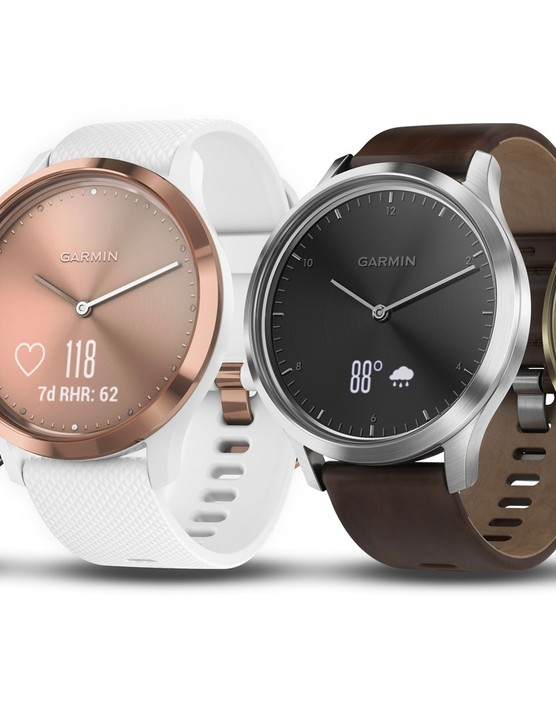 The Garmin Vivomove HR is available in a variety of colours and finishes