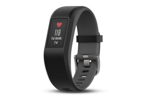 The Vivosmart has definite echoes of the FitBit Charge 2