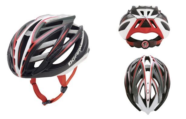 The Garneau Diamond helmet with 40 vents!