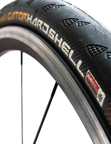 There's no such thing as 100 percent puncture protection, but Continental's Gator Hardshell is one of the toughest road tyres on the market