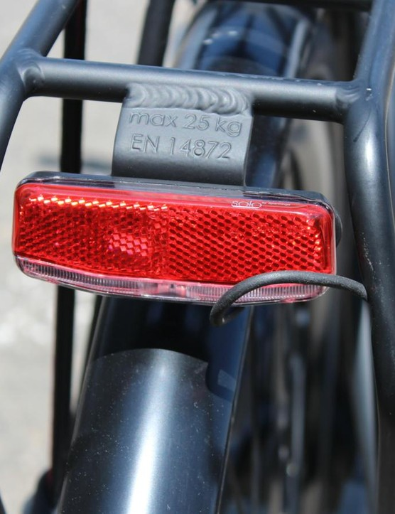 You don't have to worry about charging your lights separately from the bike