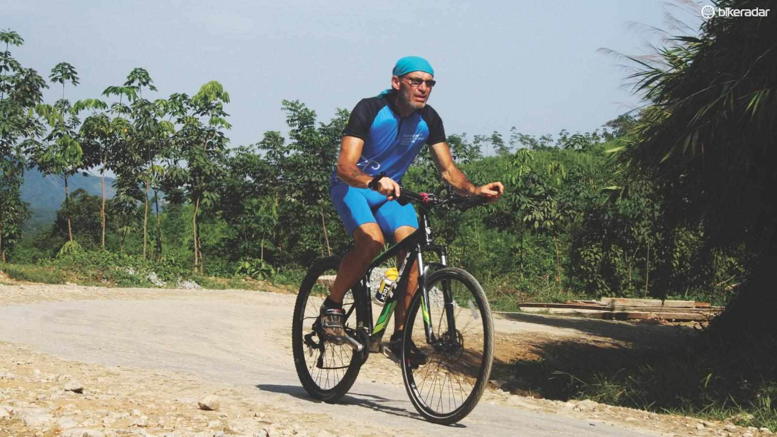 John is raising money for charity and has his sights set on a ride through China