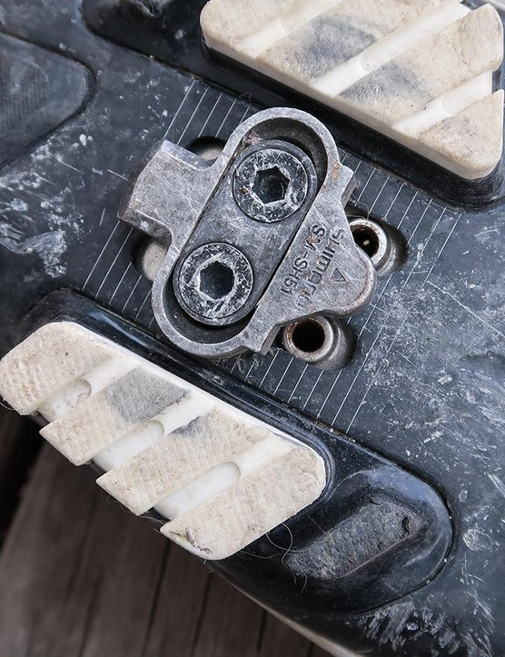 Last but not least, take a few minutes to go over the gear that connects you to the bike. Check to make sure the buckles on your shoes are in good shape and that your cleats are firmly screwed in