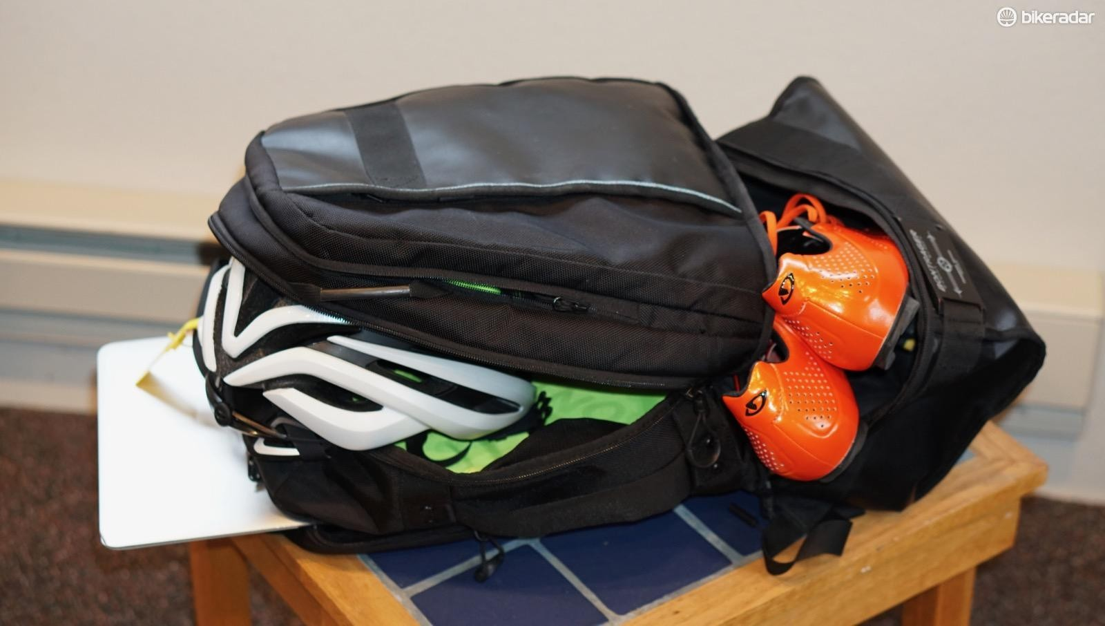 Bontrager's Harelbeke bag is what I used for every trip this year
