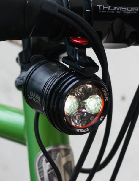Dynamo lights are really, really good