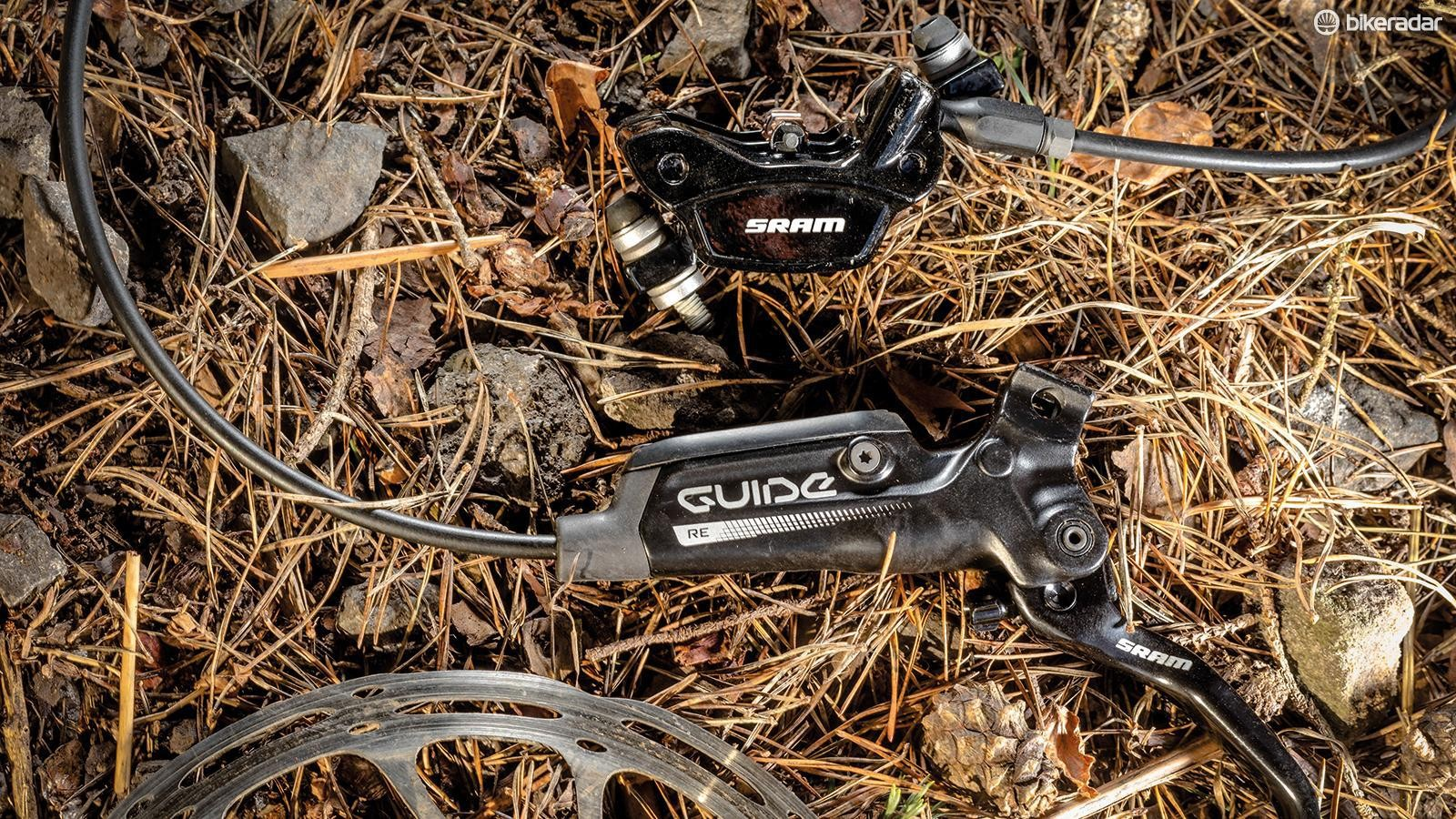 SRAM Guide RE brakes have impressed again and again with powerful stopping and their consistent, sharp lever feel