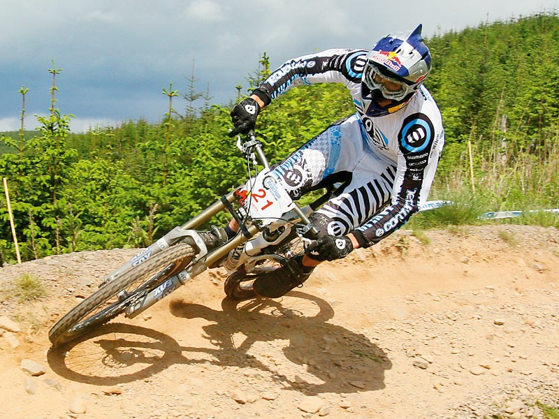 Gee Atherton in action at the NPS 2007